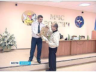 Воронежские спасатели отмечают профессиональный праздник