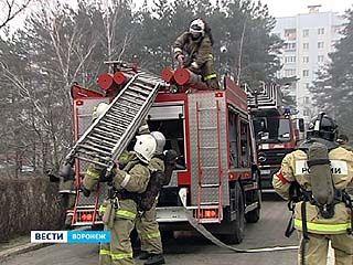 Воронежские спасатели провели масштабные учения