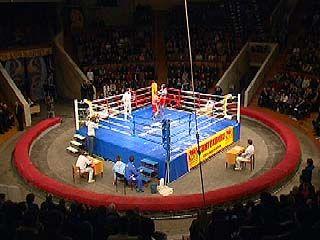 Воронежские спортсмены провели матч с боксерами из Туниса