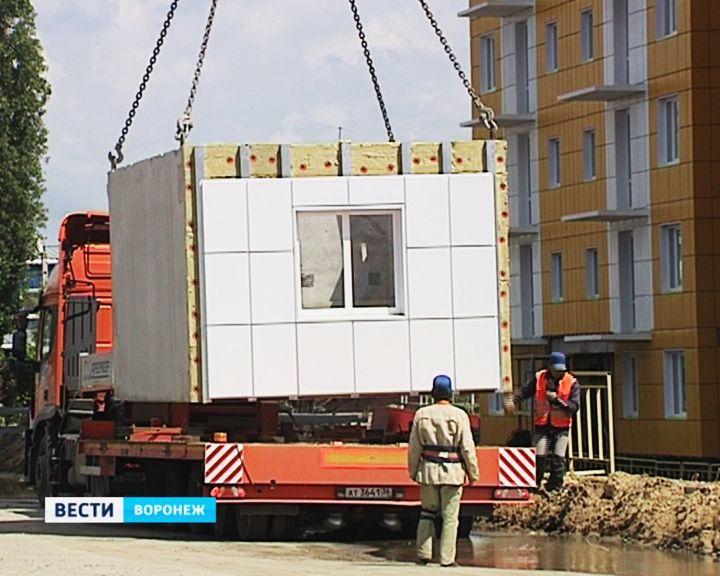 Воронежские строители изготавливают целые квартиры прямо на заводе
