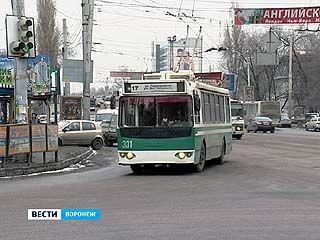 Воронежские троллейбусы могут остаться без электролиний