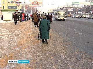 Воронежские улицы могут превратиться в каток