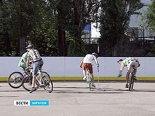 Воронежские велосипедисты осваивают байк-поло