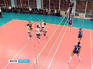 Воронежские волейболистки провели шестой тур Чемпионата России