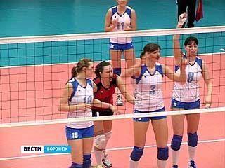 Воронежские волейболистки разгромлены тюменским клубом