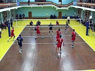 Воронежские волейболисты проиграли команде из Грозного