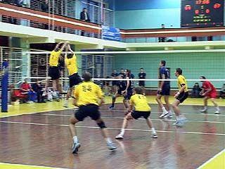 Воронежские волейболисты встретились с командой из Белгорода