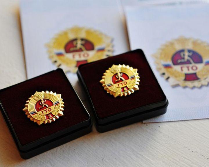 Воронежские выпускники впервые получили значки ГТО