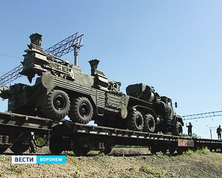 Воронежские зенитчики отправляются на боевые учения за тысячу километров