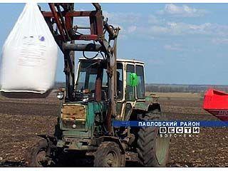Воронежских аграриев обеспечат удобрениями с отсрочкой платежа