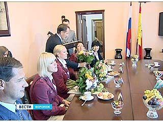 Воронежских паралимпийцев поздравил губернатор Алексей Гордеев