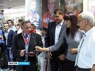 Воронежских спортсменов и тренеров чествовали в Музее спорта