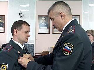 Воронежских стражей порядка награждали медалями и почётными грамотами