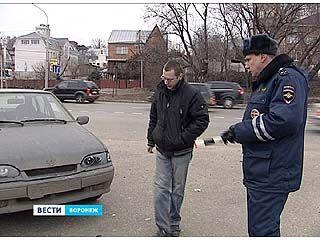 Воронежских водителей призывают помыть номера