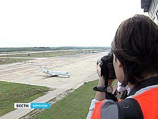 Воронежским фотографам впервые разрешили официально сделать снимки воздушных судов