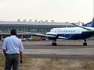 Воронежский аэропорт будет работать в штатном режиме
