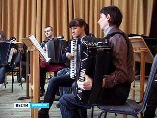 Воронежский ансамбль баянистов вернулся из Северной Пальмиры