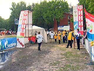 """Воронежский """"Азимут-2008"""" был под угрозой срыва из-за грозы"""