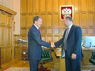 Воронежский губернатор встретился с депутатом Госдумы Александром Бабаковым