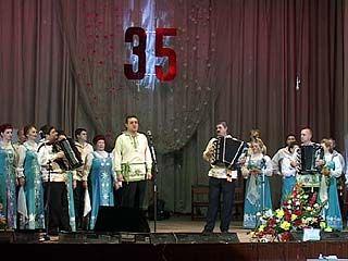 Воронежский хор русской песни отметил 35-летие