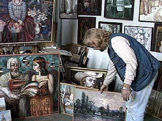 Воронежский художник обещает устроить костер из картин на центральной площади