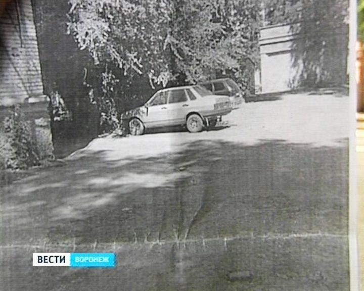 Воронежский комбинат благоустройства прислал горожанам фото двора, которого нет