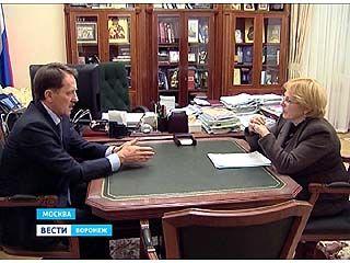 Воронежский регион вошел в десятку лидеров по темпам модернизации медицины