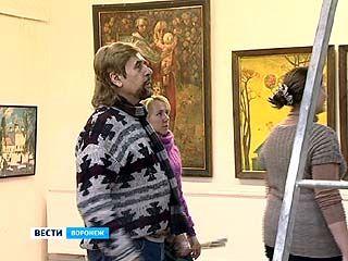 Воронежский живописец Вячеслав Знатков юбилей решил отметить на собственной выставке