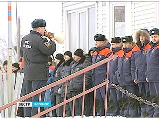 Воронежское подразделение МЧС признали одним из лучших в ЦФО