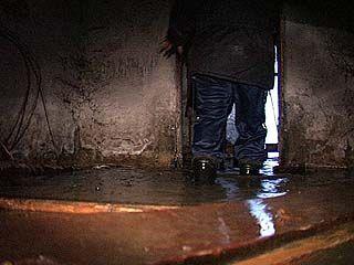 Воронежскую пятиэтажку затопило