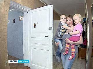 Воронежскую семью могут выселить из-за кредита бывшего мужа