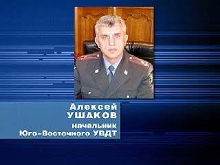 Воронежскую транспортную милицию возглавит полковник Ушаков