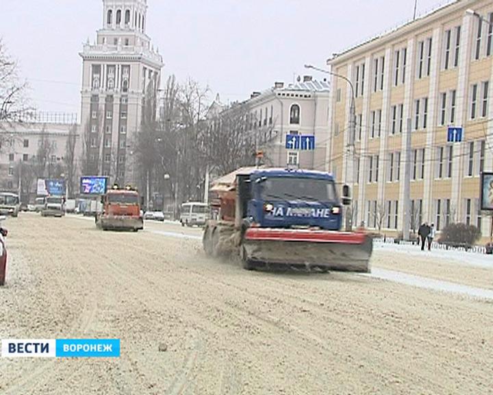 Воронежцев ожидает снегопад, оттепель и резкое похолодание