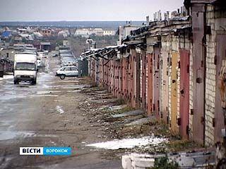 Воронежцы массово меняют гаражи и стоянки на парковку во дворах