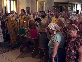 Воронежцы молятся на дождь