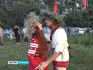 Воронежцы отметили древнеславянский праздник Ивана-Купалы