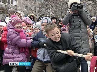 Воронежцы отметили широкую масленицу