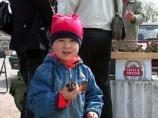Воронежцы отметили весенний праздник - Благовещение Пресвятой Богородицы