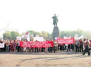 Воронежцы поддержали всероссийскую акцию протеста