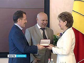 Воронежцы получили региональные награды за особый вклад в развитие области