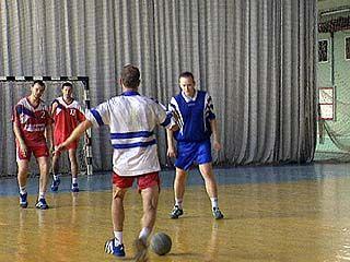 Воронежцы принимали гандболистов из Волгограда