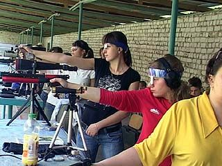 Воронежцы принимают участие в Чемпионате Мира по стендовой стрельбе