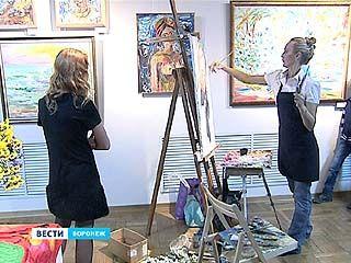 Воронежцы приобщались к искусству