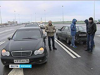 Воронежцы протестуют против платной дороги в районе Изыскателей