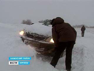 Воронежцы с трудом пережили затяжной снегопад