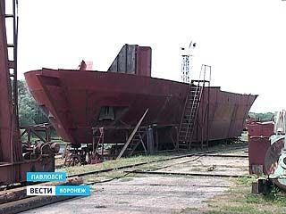 Воронежцы смогут рассмотреть точную копию первого линкора