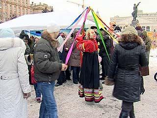 Воронежцы стали участниками масленичных конкурсов