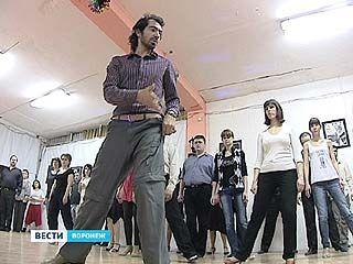 Воронежцы учились азам танго у настоящего аргентинца