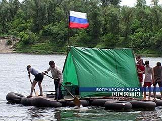 Воспитанники Калачеевской школы-интерната отправились за приключениями