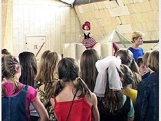 Воспитанники школ-интернатов побывали в театре кукол